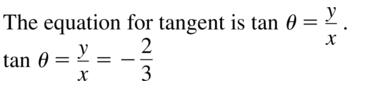 Big Ideas Math Algebra 2 Solutions Chapter 9 Trigonometric Ratios and Functions 9.3 a 23