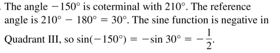 Big Ideas Math Algebra 2 Solutions Chapter 9 Trigonometric Ratios and Functions 9.3 a 27