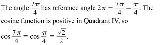 Big Ideas Math Algebra 2 Solutions Chapter 9 Trigonometric Ratios and Functions 9.3 a 31