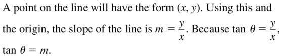 Big Ideas Math Algebra 2 Solutions Chapter 9 Trigonometric Ratios and Functions 9.3 a 45