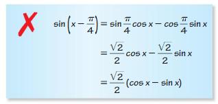 Big Ideas Math Algebra 2 Solutions Chapter 9 Trigonometric Ratios and Functions 9.8 4
