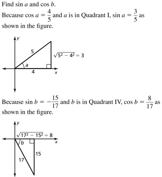 Big Ideas Math Algebra 2 Solutions Chapter 9 Trigonometric Ratios and Functions 9.8 a 11.1