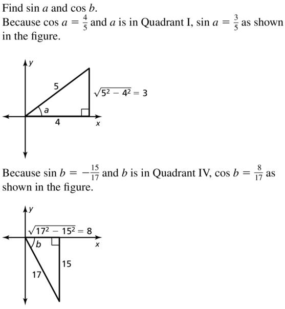 Big Ideas Math Algebra 2 Solutions Chapter 9 Trigonometric Ratios and Functions 9.8 a 13.1
