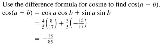 Big Ideas Math Algebra 2 Solutions Chapter 9 Trigonometric Ratios and Functions 9.8 a 13.2