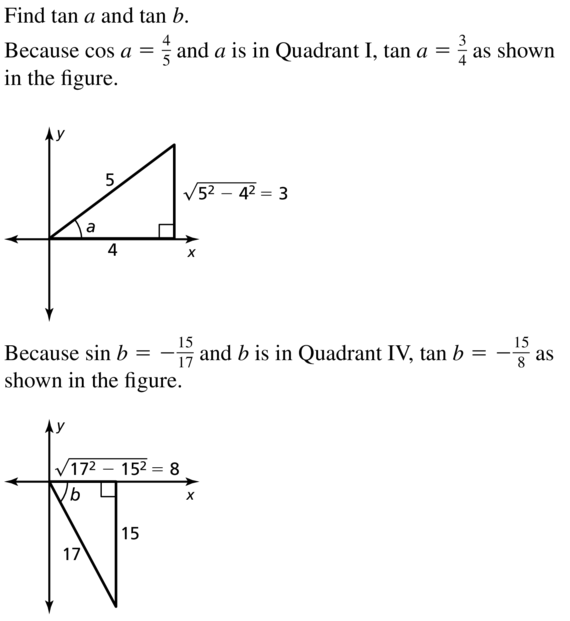 Big Ideas Math Algebra 2 Solutions Chapter 9 Trigonometric Ratios and Functions 9.8 a 15.1