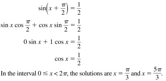 Big Ideas Math Algebra 2 Solutions Chapter 9 Trigonometric Ratios and Functions 9.8 a 27