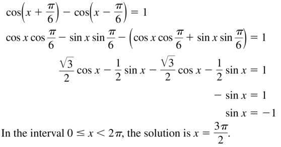 Big Ideas Math Algebra 2 Solutions Chapter 9 Trigonometric Ratios and Functions 9.8 a 29