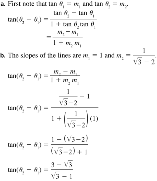 Big Ideas Math Algebra 2 Solutions Chapter 9 Trigonometric Ratios and Functions 9.8 a 39.1