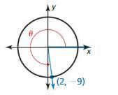 Big Ideas Math Algebra 2 Solutions Chapter 9 Trigonometric Ratios and Functions ct 14
