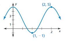 Big Ideas Math Algebra 2 Solutions Chapter 9 Trigonometric Ratios and Functions ct 5