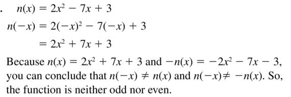 Big Ideas Math Answer Key Algebra 1 Chapter 8 Graphing Quadratic Functions 8.4 a 11