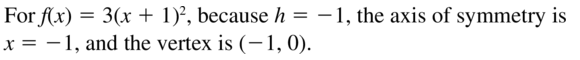 Big Ideas Math Answer Key Algebra 1 Chapter 8 Graphing Quadratic Functions 8.4 a 19