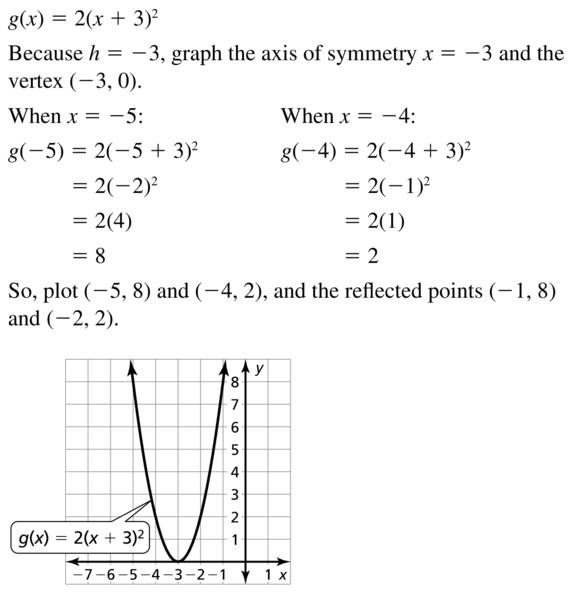Big Ideas Math Answer Key Algebra 1 Chapter 8 Graphing Quadratic Functions 8.4 a 23.1