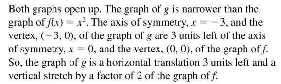 Big Ideas Math Answer Key Algebra 1 Chapter 8 Graphing Quadratic Functions 8.4 a 23.2