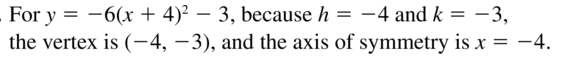 Big Ideas Math Answer Key Algebra 1 Chapter 8 Graphing Quadratic Functions 8.4 a 31