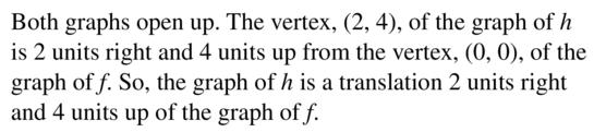 Big Ideas Math Answer Key Algebra 1 Chapter 8 Graphing Quadratic Functions 8.4 a 39.2
