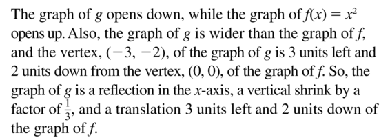 Big Ideas Math Answer Key Algebra 1 Chapter 8 Graphing Quadratic Functions 8.4 a 43.2