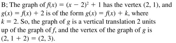 Big Ideas Math Answer Key Algebra 1 Chapter 8 Graphing Quadratic Functions 8.4 a 47