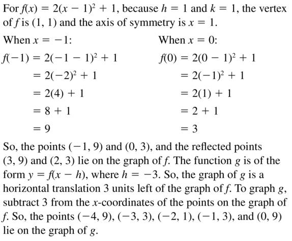 Big Ideas Math Answer Key Algebra 1 Chapter 8 Graphing Quadratic Functions 8.4 a 49.1