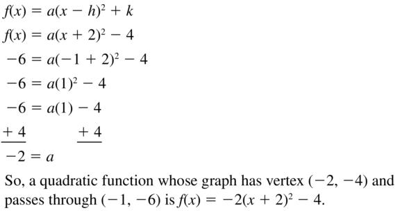 Big Ideas Math Answer Key Algebra 1 Chapter 8 Graphing Quadratic Functions 8.4 a 59