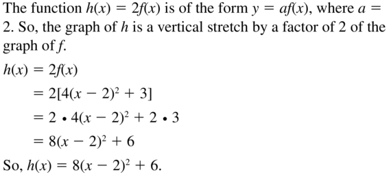 Big Ideas Math Answer Key Algebra 1 Chapter 8 Graphing Quadratic Functions 8.4 a 73
