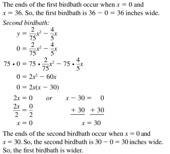Big Ideas Math Answer Key Algebra 1 Chapter 8 Graphing Quadratic Functions 8.4 a 77.2