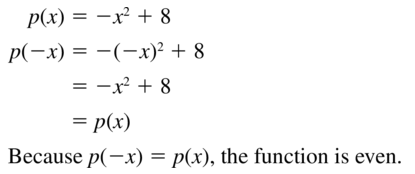 Big Ideas Math Answer Key Algebra 1 Chapter 8 Graphing Quadratic Functions 8.4 a 9