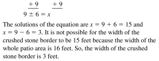 Big Ideas Math Answer Key Algebra 1 Chapter 9 Solving Quadratic Equations 9.4 a 55.2