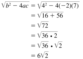 Big Ideas Math Answer Key Algebra 1 Chapter 9 Solving Quadratic Equations 9.4 a 79