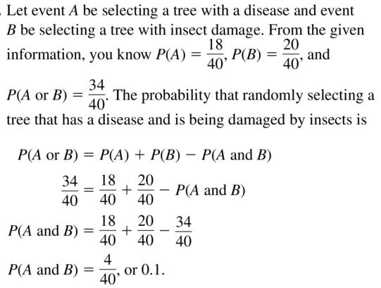 Big Ideas Math Answer Key Algebra 2 Chapter 10 Probability 10.4 a 15