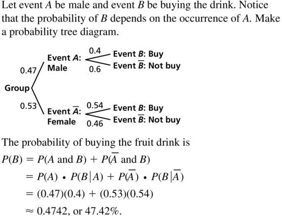 Big Ideas Math Answer Key Algebra 2 Chapter 10 Probability 10.4 a 17