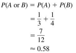 Big Ideas Math Answer Key Algebra 2 Chapter 10 Probability 10.4 a 5