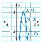 Big Ideas Math Answer Key Algebra 2 Chapter 2 Quadratic Functions 82