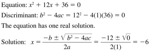 Big Ideas Math Answer Key Algebra 2 Chapter 3 Quadratic Equations and Complex Numbers 3.4 a 19