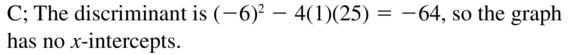 Big Ideas Math Answer Key Algebra 2 Chapter 3 Quadratic Equations and Complex Numbers 3.4 a 29