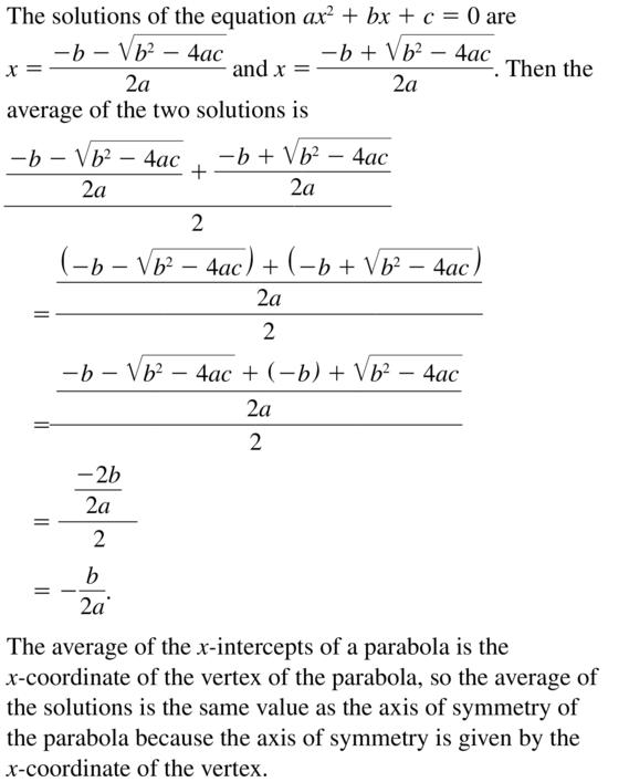 Big Ideas Math Answer Key Algebra 2 Chapter 3 Quadratic Equations and Complex Numbers 3.4 a 73