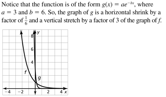 Big Ideas Math Answer Key Algebra 2 Chapter 6 Exponential and Logarithmic Functions 6.4 a 21