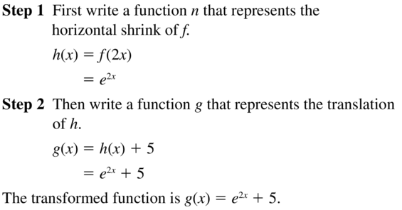 Big Ideas Math Answer Key Algebra 2 Chapter 6 Exponential and Logarithmic Functions 6.4 a 37