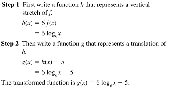 Big Ideas Math Answer Key Algebra 2 Chapter 6 Exponential and Logarithmic Functions 6.4 a 39