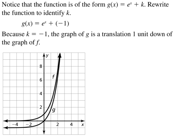 Big Ideas Math Answer Key Algebra 2 Chapter 6 Exponential and Logarithmic Functions 6.4 a 9