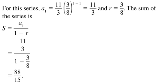 Big Ideas Math Answer Key Algebra 2 Chapter 8 Sequences and Series 8.4 a 9
