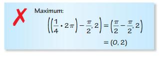 Big Ideas Math Answer Key Algebra 2 Chapter 9 Trigonometric Ratios and Functions 9.4 14