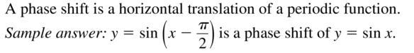 Big Ideas Math Answer Key Algebra 2 Chapter 9 Trigonometric Ratios and Functions 9.4 a 3