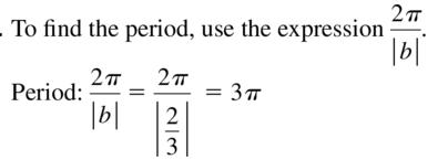 Big Ideas Math Answer Key Algebra 2 Chapter 9 Trigonometric Ratios and Functions 9.4 a 35