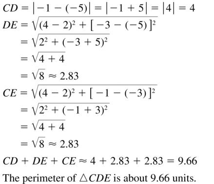Big Ideas Math Answer Key Geometry Chapter 1 Basics of Geometry 1.4 a 17