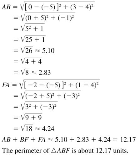 Big Ideas Math Answer Key Geometry Chapter 1 Basics of Geometry 1.4 a 19