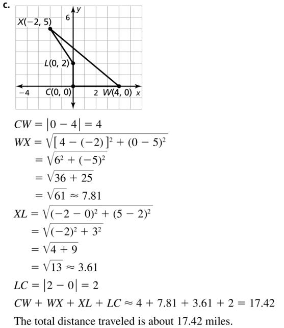 Big Ideas Math Answer Key Geometry Chapter 1 Basics of Geometry 1.4 a 31.2