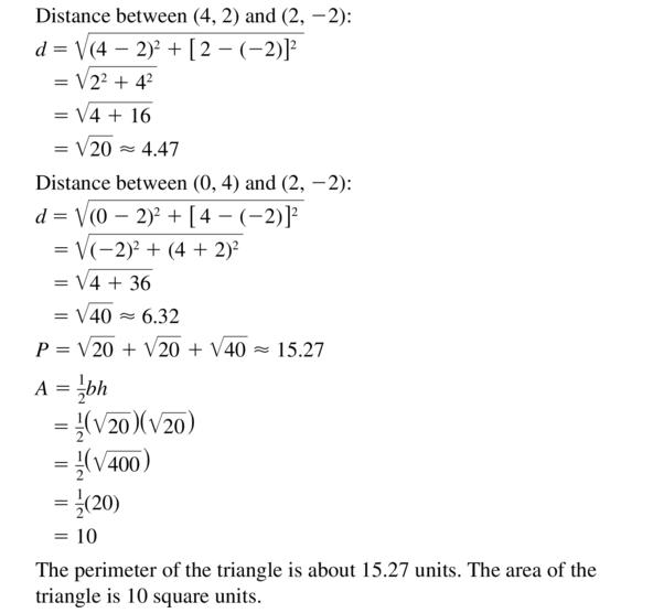 Big Ideas Math Answer Key Geometry Chapter 1 Basics of Geometry 1.4 a 33.2
