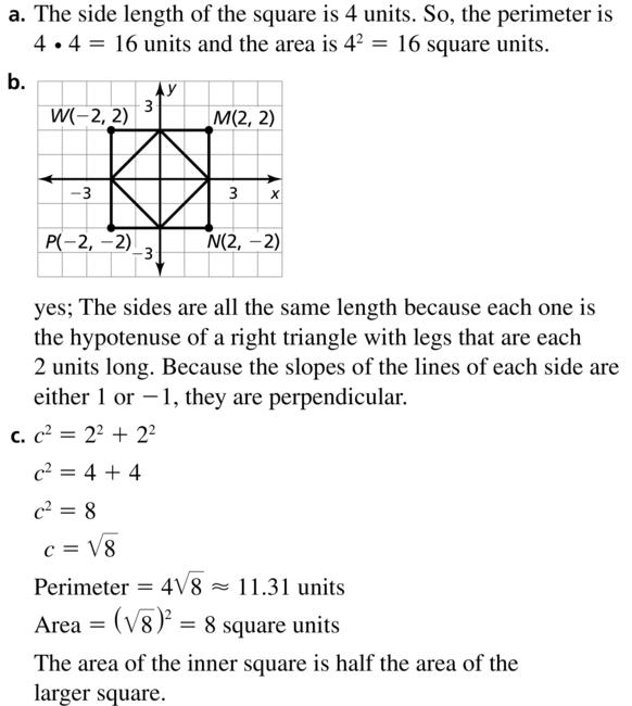 Big Ideas Math Answer Key Geometry Chapter 1 Basics of Geometry 1.4 a 35