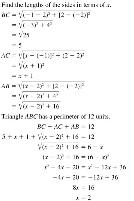 Big Ideas Math Answer Key Geometry Chapter 1 Basics of Geometry 1.4 a 37